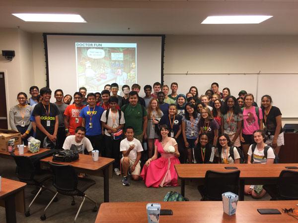 Summer Ventures in Science & Mathematics